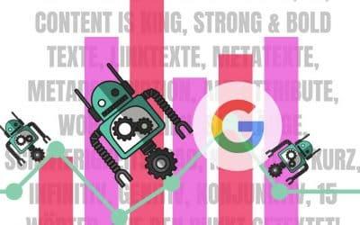 Redaktionelles SEO – Warum Sie auch für Google Bots schreiben sollten!